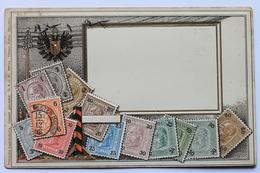 Österreich Philatelie Ansichtskarte Ottmar Zieher No 6 / Austria, Philatelic Postcard / Carte Philatelique Déposée - Stamps (pictures)