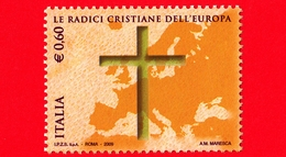 Nuovo - MNH - ITALIA - 2009 - Radici Cristiane Dell'Europa - Europa E Croce - 0,60 - 1946-.. République