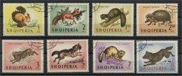 ALBANIA, ANIMALS OF THE FOREST 1964, U SET - Albanie