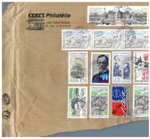 (333) France To Australia On Partial Cover - Many Stamps With Europa Stamp - France