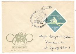 3322 - POLOGNE - Summer 1964: Tokyo