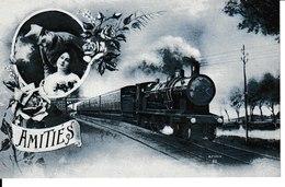 THEMES=TRANSPORTS...Une Pensée N°2 - Cartes Postales