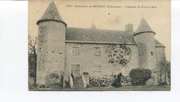 CPA  -  BENEST -  Château De Fou Le Bon - Circulée - - Autres Communes