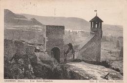 Carte Postale Ancienne De L'Isère - Crémieu - Vue Générale - Crémieu