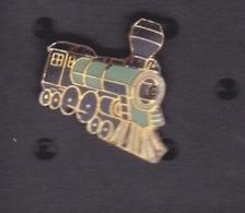 ILE DE La REUNION - Pin's TRAIN LOCOMOTIVE A VAPEUR  - TI TRAIN LONTAN - Transportation