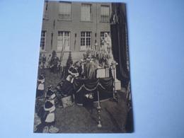 Melle //  Maison De Melle Lez-Gand, L'Inauguration De La Statue & Messe En Plein Air 19?? - Melle
