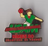 PIN'S THEME SPORT  HANDBALL  CULB DE NIMES  USAM - Handball