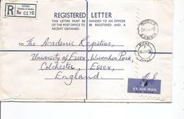 Zambie ( Lettre Recommandée De 1976 De Kitwé Vers La Grande-Bretagne à Voir) - Zambia (1965-...)