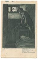 W. Konig Painter - Prison, Gefangnis, Art PC 1918. - Gevangenis
