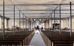 Auburn, Men's Chapel, Auburn Prison, New York, USA Vintage Unused - NY - New York