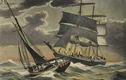 Illustrateur Bateaux En Mer RV - Paintings