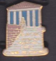 ILE DE La REUNION -  ANCIEN Pin's - ASSOCIATION AMORC  CONVENTION REGIONALE SIGNÉE EN 1993 ST DENIS - Villes
