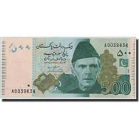 Billet, Pakistan, 500 Rupees, 2009, KM:49A, NEUF - Pakistan