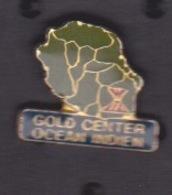 ILE DE La REUNION -  ANCIEN Pin's - GOLD CENTER OCEAN INDIEN - Food