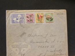 77/200   LETTRE POUR   TCHECOSLAVIE - Congo Belge