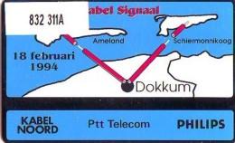 Telefoonkaart  LANDIS&GYR  NEDERLAND * RCZ.832  311a  * Overdracht Kabelsignaal * TK * ONGEBRUIKT * MINT - Privé