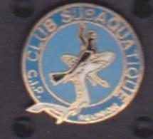 ILE DE La REUNION -  ANCIEN Pin's - CLUB PLONGÉE SUBAQUATIQUE REUNION - Diving