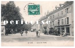88 Saint Dié    Hôtel Café Du Globe  Quai Du Parc - Saint Die