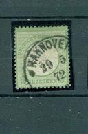 Deutsches Reich, Adler Mit Kleinem Brustschild, Nr. 2 Gestempelt - Gebraucht