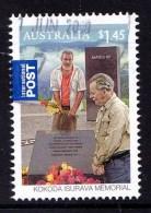 Australia 2010 Kokoda Isurava Memorial $1.45 International Used - 2010-... Elizabeth II