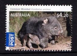 Australia 2009 Bush Babies $4.20 Wombat International Used - Usati