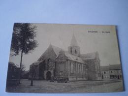 Calcken - Kalken // De Kerk Met Volk // Gelopen 1923 - Belgien