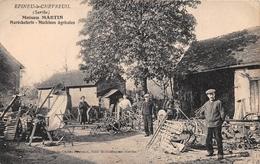 ¤¤  -  EPINEU-le-CHEVREUIL   -  Maison MARTIN  -  Maréchalerie, Machines Agricoles    -  ¤¤ - Otros Municipios