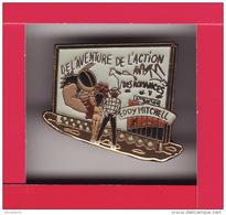 PIN'S - EDDY MITCHELL - De L'aventure Et De L'action Et Des Romances - Music