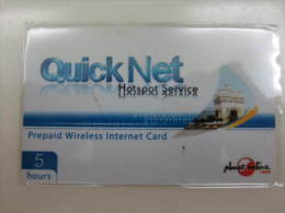 Quick Net Prepaid Wirless Internet Card,5 Hours - Laos