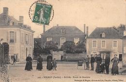 """¤¤  -  VOLNAY   -   Arrivée  -  Route De Bouloire  -  Café Du Nord """" MANSIBOT """"    -  ¤¤ - France"""