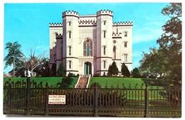 #308   The Old State Capitol - BATON ROUGE, LOUISIANA - US Postcard - Baton Rouge