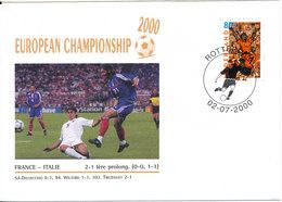 Netherlands Cover UEFA European Championship Soccer Football 2000 France - Italy - Fußball-Europameisterschaft (UEFA)