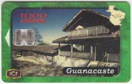 COSTA RICA A-152 Chip ICE - Culture, Rural House - Used - Costa Rica