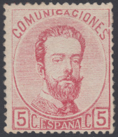 España Spain 118 1872 Amadeo I MH - Sin Clasificación
