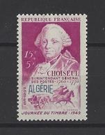 ALGERIE . YT  275  Neuf *   Journée Du Timbre  1949 - Neufs