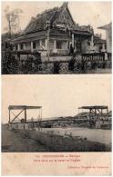 COCHINCHINE - RACHGIA - Pont Levis Sur Le Canal Et Pagode - Vietnam