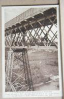 PADERNO DUGNANO , IL GRANDE PONTE SULL' ADDA, ANIMATA  VIAGGIATA 1932 - Altre Città
