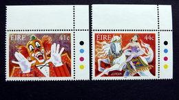 Irland 1432/3 **/mnh, EUROPA/CEPT 2002, Zirkus - Nuovi