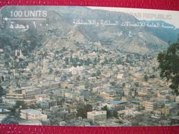 Télécarte Du Yemen - Yemen