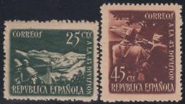 España Spain 787/88 1938 43 División MNH - España