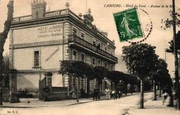 CABOURG -14- HOTEL DU NORD AVENUE DE LA MER - Cabourg