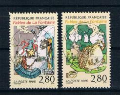 Frankreich 1995 Mi.Nr. 3101/02 Gestempelt - Gebraucht
