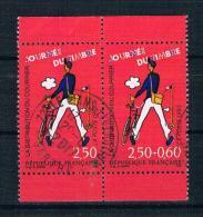 Frankreich 1993 Tag Der Briefmarke Mi.Nr. 2939/40 Gestempelt - Frankreich
