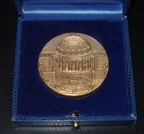 Médaille Bronze Leconte / Pradeilhes - Sénat - Sénateur De Seine Et Marne ( Melun Meaux Chelles Lagny Etc ... ) - Autres