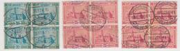 SARRE. 3 BLOCS DE 4. Mi 88-89, Yv 89-90 - Ungebraucht