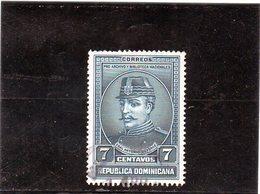 B - 1936 Rep. Dominicana - Gen. Antonio Duvergé - República Dominicana
