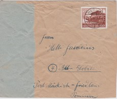 ALLEMAGNE 1944 LETTRE DE HERNE - Germany