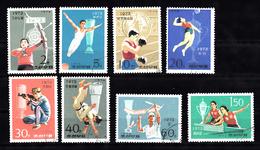 Korea Noord 1974 Mi Nr 1237 - 1244 Sport, Boxen, Volleyball, Judo - Korea (Noord)