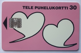Valentines Day 96  Finland Used Card - Finland