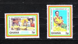 Ghana -   1973.  Vendita Banane E Frutta Al Mercato. Sell Bananas And Fruit At The Market. MNH - Frutta